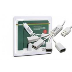 Slim HUB USB 2.0, 4Porturi Digitus