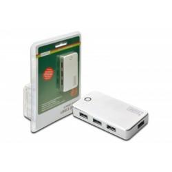 HUB USB 3.0, 4 Porturi cu alimentare externa Digitus