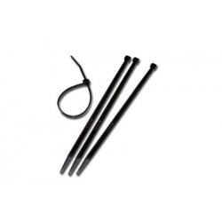 Cravata cablu CV200W  200X4 set 100buc neagra