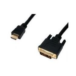 Cablu HDMI la DVI 5m gold