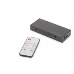 Switch HDMI UHD 4K/2K-60Hz 5porturi Digitus