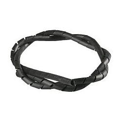 Spirala matisat cabluri FIX-SW-10/BK negru