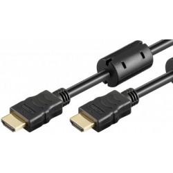 Cablu HDMI1.4 la HDMI1.4 5m  1080p/50-60hz  4K/24hz  filtre ferita