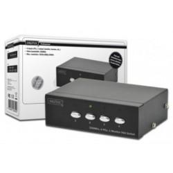 Video Switch VGA 4 porturi Digitus