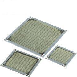 Filtru praf metal cu ecran EMI ventilator 90x90 FM-09
