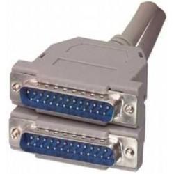Cablu transmisie paralel, 25tata-25tata, 10 m
