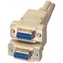 Cablu serial D-SUB 9mama-9mama, 3 m 1:1