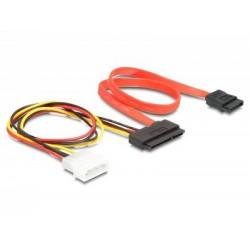 Cablu SATA date+ alimentare Delock