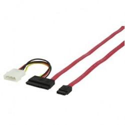 Cablu conexiune Serial ATA3.0+alimentare C-238
