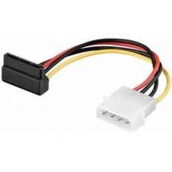 Cablu alimentare Serial ATA cu mufa la 90