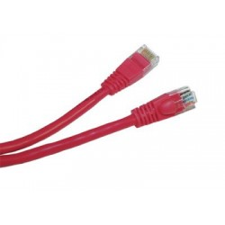 Patch cord - 10m rosu cat.5e