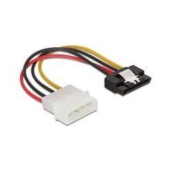 Cablu alimentare SATA mama-4 pini Molex tata,clips metalic