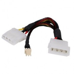 Cablu alimentare 5.25``-5.25``mama+3pini CMP-CIO03