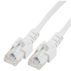 Patch cord - 1m alb cat.5e