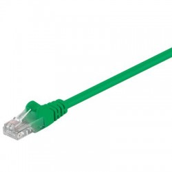 Cablu UTP Goobay Patch cord cat.5e 1m verde