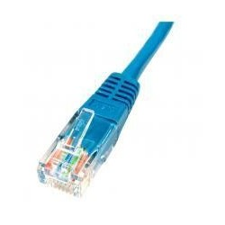 Patch cord - 5m albastru cat.5e