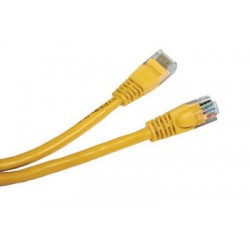 Patch cord - 5m galben cat.5e
