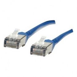 Cablu FTP Patch cord - 1m  albastru cat 5