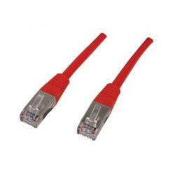 Patch cord SFTP - 1m  rosu cat 5