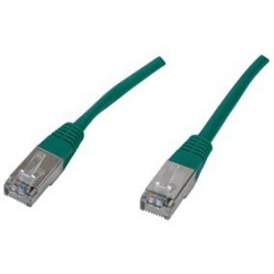 Patch cord SFTP - 1m verde cat 5