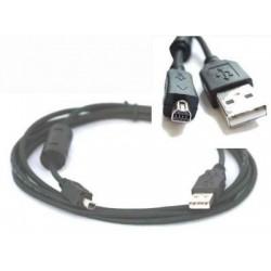 Cablu USB A - B mini 8 pini, 1.8 m
