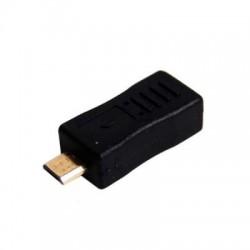 Adaptor USB 2.0 microB tata - USB miniB mama