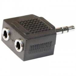 Adaptor 3.5 st tata - 2x3.5 st mama AC-012