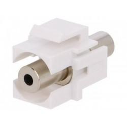 Adaptor 3.5 stereo mama - 3.5 stereo mama montare clichet