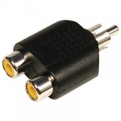 Adaptor RCA tata-2RCA mama